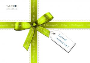 TACKE-MARKETING Weihnachtsmailing 2012 - schnell auspacken!